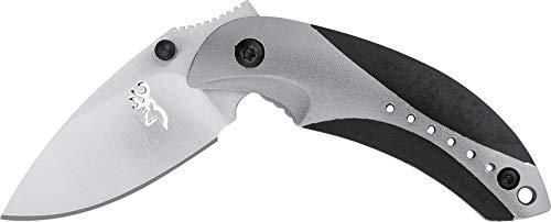 Browning - Klappmesser - Klingenlänge: 5.08 cm - Minnow Linerlock Gray