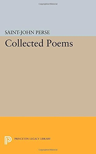 Collected Poems (Princeton Legacy Library) by Saint-John Perse (2014-07-14)
