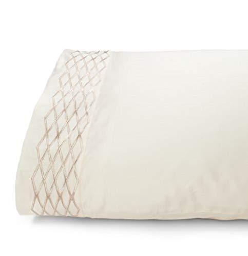 Waterford Fine Linens Luxuriöser Kissenbezug aus 100% Baumwolle, Fadenzahl 400 Standard 20