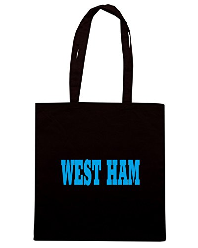 T-Shirtshock - Borsa Shopping WC0700 WEST HAM Nero