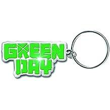Green Day Schlüsselring Keychain Band Logo american idiot Nue offiziell metal