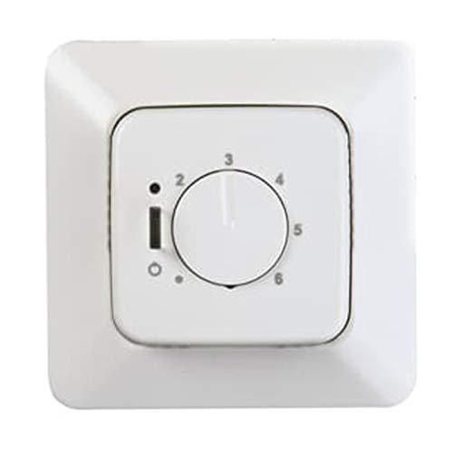Niessen tacto - Tapa termostato con interruptor 8140.1 tacto blanco