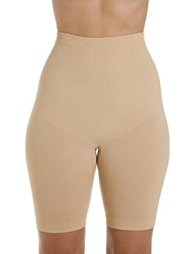 Mutande pantaloncini snellenti senza cuciture - beige