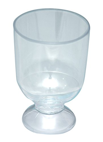 Ezee Party Disposable Plastic Wine Glass 150 ml 20 Pieces