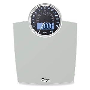 Ozeri Báscula Digital de Baño Rev Dial de Peso Electromecánico