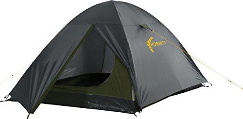 Best Camp Hobart 2, Tenda Unisex-Adulto, Grigio Scuro/Oliva, 285 x 150 x 120 cm