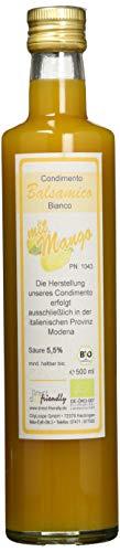direct&friendly Bio Condimento Balsamico mit Essig fruchtiger Mango, 500 ml