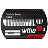 Wiha SB 7947-904 Coffret de 12 Embouts standard PH/PZ/Torx® 25 mm avec Porte-embout universel