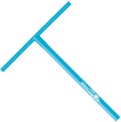 Slamm Flache T-Lenkstange Blau blau