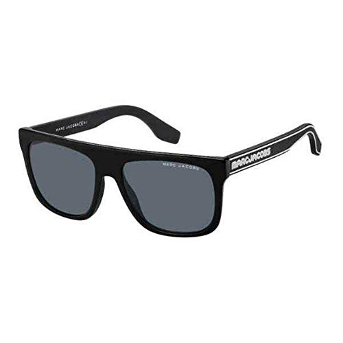 Marc Jacobs MARC 357/S 807 Black MARC 357/S Square Sunglasses Lens Category 3 Size 56mm