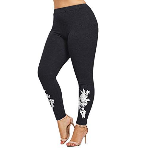 Clacce Leggings Hose Yogahose Damen Jogginghose Hüfthose Strumpfhose Leggins Hose Frauen Plus Größen Feste Applizierte Leggings Beiläufige Sport Yogahosen