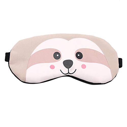 Sleeping Mask Cartoon Lovely Monkey Breathable Eye Mask Eye Shade with Ice Pack