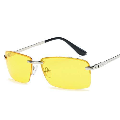 WDDYYBF Sonnenbrillen, Männer Sonnenbrille Sonnenbrille Fahren Männer Classic Low Profile Sonnenbrillen Für Männer Im Freien Uv400 Night Vision