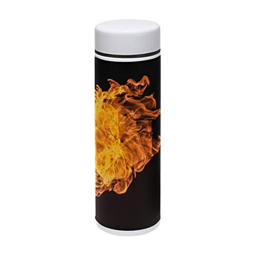MUOOUM Fire Hell Inferno Vakuum-Isolierter Edelstahl-Reisebecher Sport-Wasserflasche 19,1 ml heiß für 12 - Halloween Infernos
