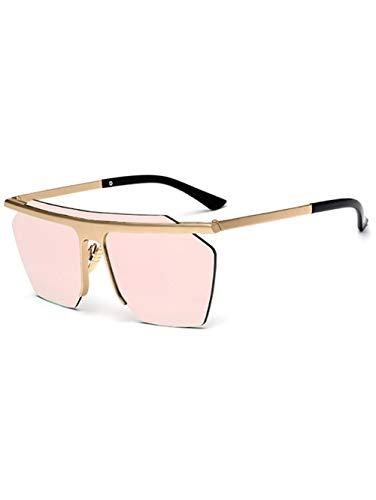 Fashion Semi-Border Metall Aviator Spiegel Sonnenbrille Fashion Brille Damen Wandern Retro Runde Outdoor-Strand Laufen Ski ultraleichte professionelle leichte Fahrrad Mode Herren Sonnenb