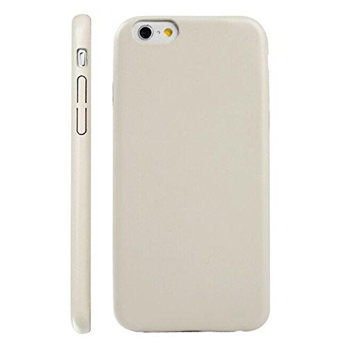 Phone case & Hülle Für IPhone 6 Plus / 6S Plus, Ultra-dünne schützende Leder zurück Fall Fall ( Color : Black ) Beige