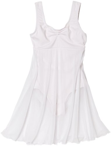 capezio-robe-de-ballet-danse-robe-3968-c-empire-dress-2-couleurs-large-blanc