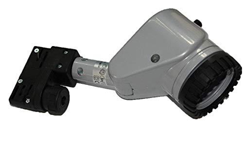 E27 Adapter Fassung 3-Phasen Stromschiene für PAR20, PAR30 und PAR38 Strahler, schwenkbar -