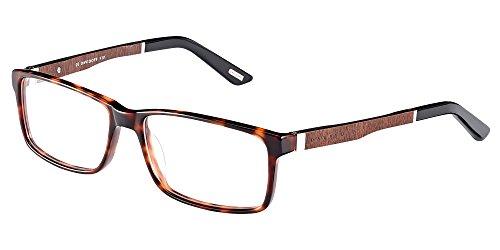 Davidoff occhiali da vista 91050 havana wood uomo
