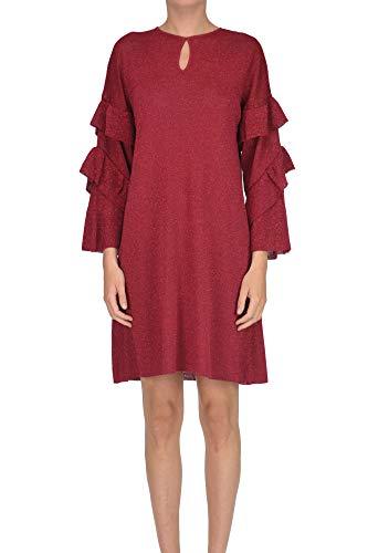 NENETTE Lurex Dress Woman Fire red M int.