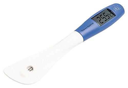 Massade Profi Koch Einstichthermometer + Spachtel für Grill Braten Ofen Suppe Küchen Thermometer Barbecue BBQ Fleisch