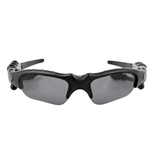 AimdonR Tragbare Sonnenbrille drahtlose Bluetooth-Kopfhörer Outdoor-Sportbrille Headset mit Mikrofon Bluetooth 5.0