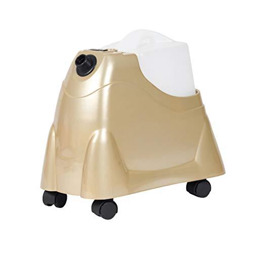 ZCM Ferro a Vapore, Appeso Tessuto ad Alta capacità e vapori per Indumenti Stiratura Senza Problemi compatta per casa E8-T688 (Colore : Champagne Gold, Dimensioni : A)