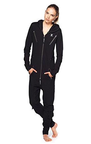 Onepiece Unisex Jumpsuit Air Schwarz (Black)