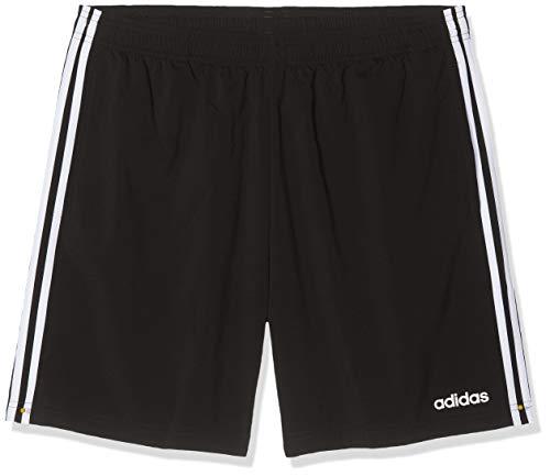 adidas Herren Essentials 3-Streifen 7 Zoll Shorts, Black/White, - Adidas Short Tennis
