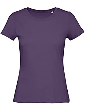 B&C - Camiseta de manga corta de algodón orgánico modelo Favourite para mujer