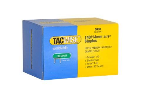 Tacwise Heftklammern Verzinkt 140/14mm (5.000 Stück)