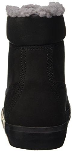Timberland Flannery_Flannery_Flannery 6 In Warm, Baskets Basses Femme Noir - Noir (nubuck)