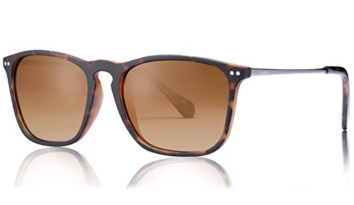 Gafas de Sol Polarizadas-Carfia TR90 Gafas de sol polarizadas para hombre y  Mujer Unisex 4cc5c18617d9