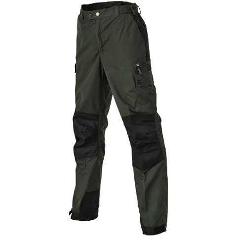 Pinewood Lappland Outdoorhose - Pantalones para hombre, color verde oscuro / negro, talla 52