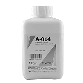 Amasan Solder Fluid Va94for Soft Soldering of Tin-Plated 1000g Stainless Steel