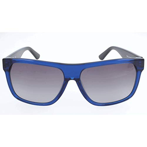 Karl Lagerfeld Unisex-Erwachsene KS6005 Sonnenbrille, Blau, 56