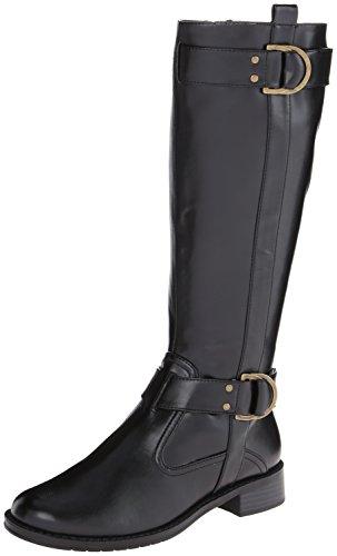 aerosoles-womens-ride-line-riding-black-polyurethane-leather-boots-9-c-d-us