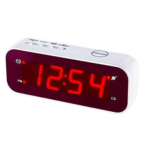 Reloj despertador LED Timegyro fácil configuración