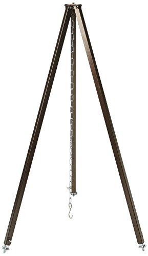 dutch oven dreibein Best Teleskop-Stativ Schwarz, 120/200 cm
