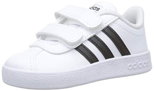 Adidas vl court 2.0 cmf i, scarpe da fitness unisex-bambini, (db1839 multicolor), 19 eu