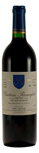 Cru Bourgeois AOC 1993 - Alter Medoc Wein aus Bordeaux, Frankreich, Cabernet Sauvignon, Merlot