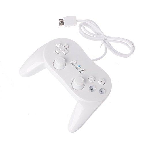 Junlinto Classic Wired Spiel Controller Gaming Remote Pro Gamepad Steuerung für Nintendo WII