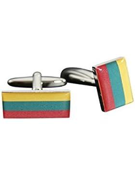 Flaggenfritze® Manschettenknöpfe Fahne / Flagge Litauen