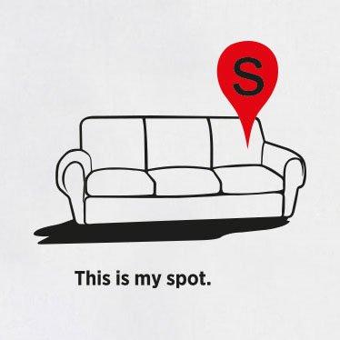 TEXLAB - TBBT: My Spot Map - Langarm T-Shirt Weiß