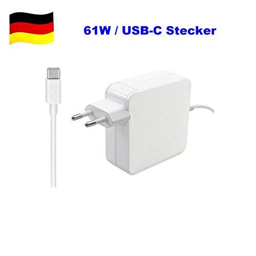 G-Technology 61W Typ USB-C Power Adapter Ladegerät Ersatz Netzteil mit USB Typ C Stecker passend für Apple MacBook Air Pro Apple Nic Macbook Pro Laptops