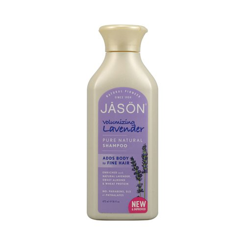 12Stück x Jason reinen, natürlichen Volumen Shampoo Lavendel-16Fl Oz - Jason Natural Lavendel Shampoo