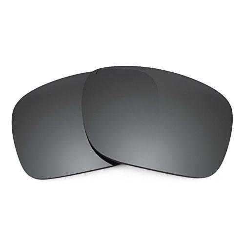 Revant Ersatzlinsen für Oakley Holbrook Schwarz Chrom MirrorShield®
