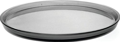 Alessi AKK82 G Mini Girotondo, Tablett, rund aus thermoplastischem Harz, grau Alessi Mini