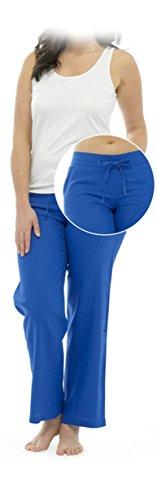 Tom Franks Damen Hose Blau