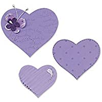 Sizzix 656334 Matrice a cuore in (Patchwork Tulip)